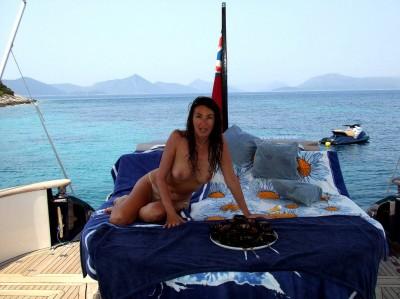 Her island paradise