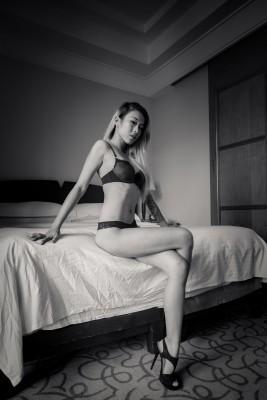Hottie in lingerie