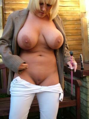 Huge knockers