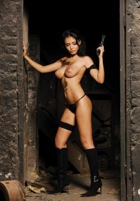 I'd raid her tomb.
