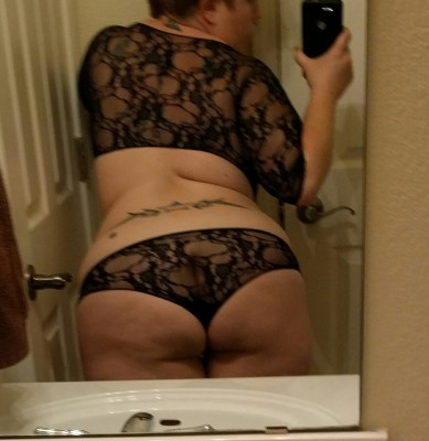 Lacey black thing