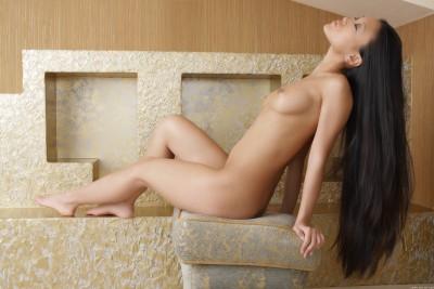 Long haired goddess