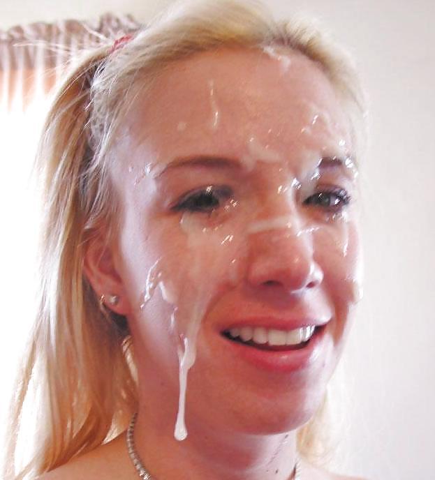 лицо в в сперме фото