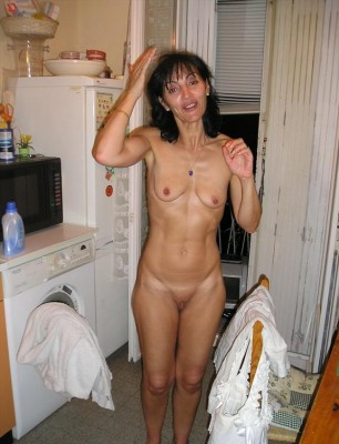 Mature woman with tight