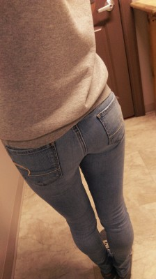 My Booty In My Favorite Tight Jeans!
