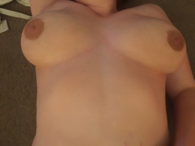 My wi(f)es beautifully soft big natural tits I was talking about