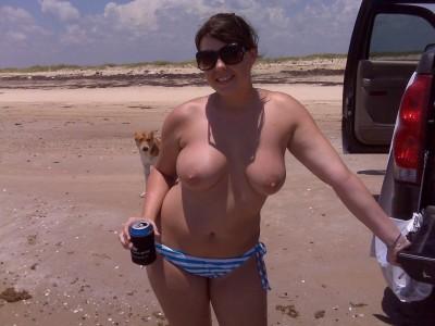 Nude beach tailgating