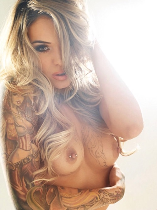 Perfect tatted and pierced girl