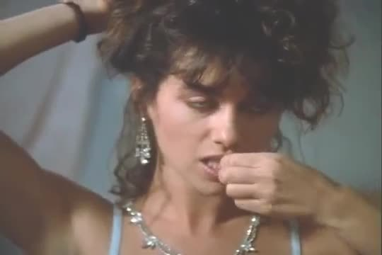 """Susanna Hoffs plot from the 1987 film """"The Alnighter""""."""