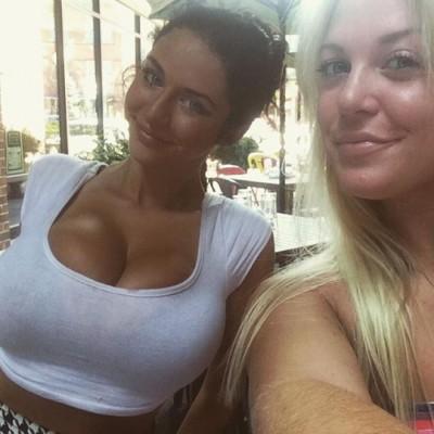 Quick Selfie at Brunch