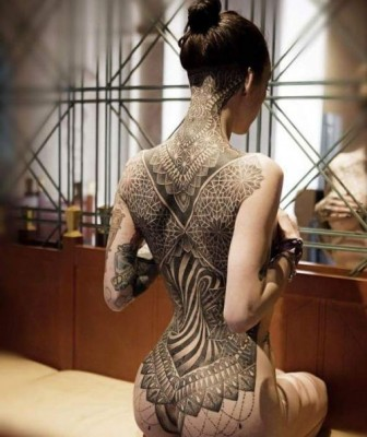 Sexy Back Tribal Tattoos
