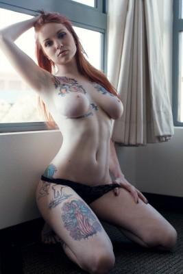 Sexy redhead..