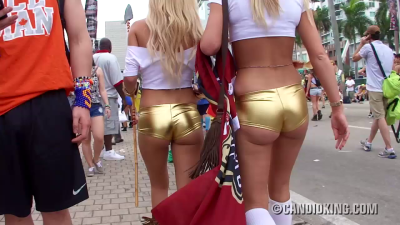 Shiny butts at Ultra