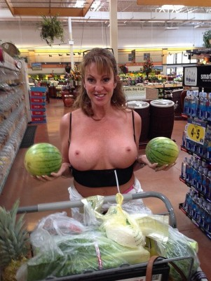 Should I Squeeze These Melons Before Buying Them?