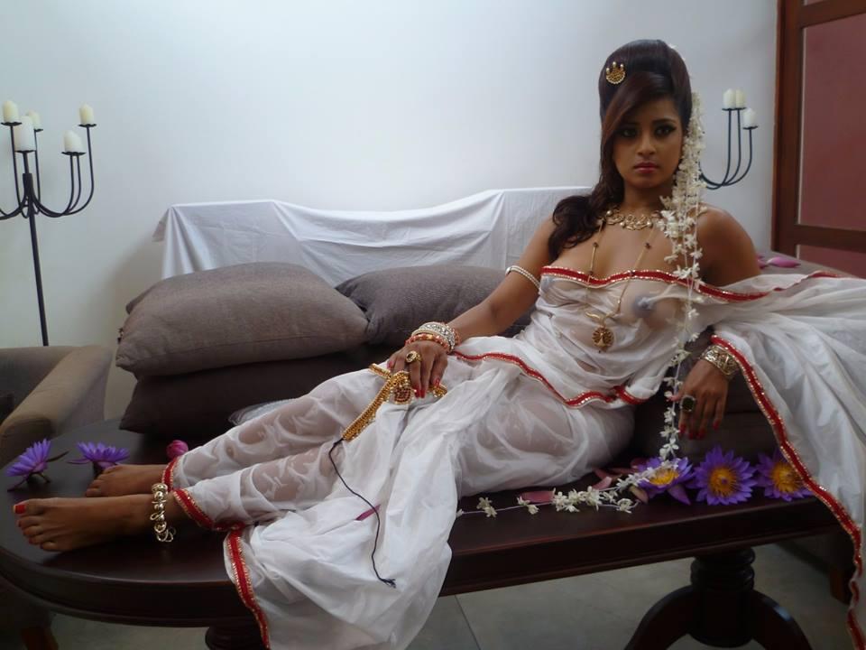 Sri Lankan beauty Nadeesha