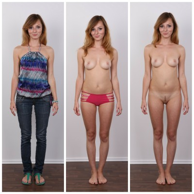 Three simple steps to getting undressed
