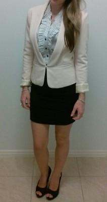 Usual dress (f)or work. Strip show AIC