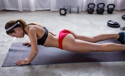 Wouldn't mind seeing her at my gym