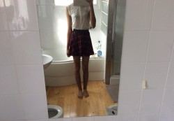 A little tartan skirt ;)