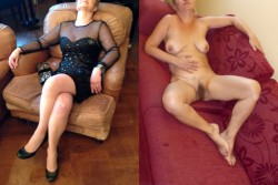 An exhibitionist wife is her husband's pride