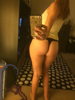 Ass pretty [f]at for a white girl... ;)