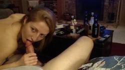 Cutie sucking dick