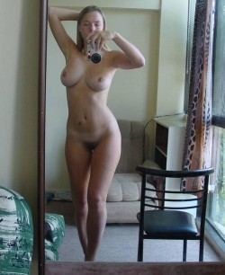 Cute blonde with a great shape