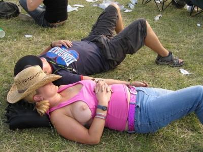 Drunk & Taking A Nap!