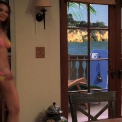 April Bowlby in a bikini was a great plot on Two and a Half Men