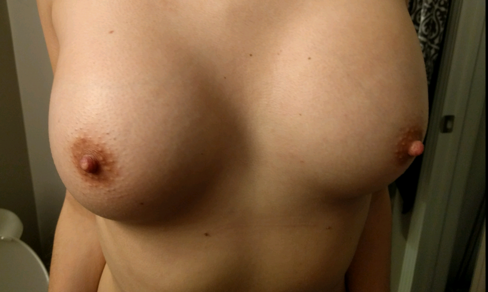 Enjoy my wife's tits!