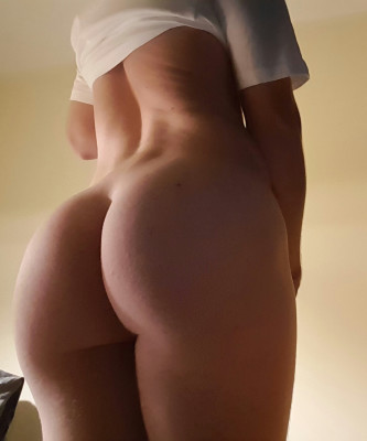 [F] What years of sports do to the booty! Enjoy.