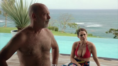 Susie Amy - Big Plots in Red Bikini - Death in Paradise