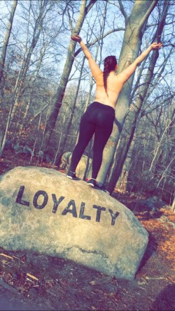 (F)lashed nature on my hike today...