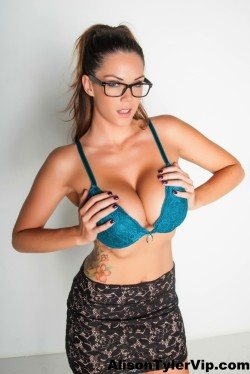 Huge boobs and glasses