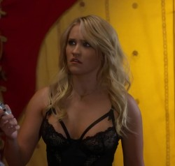 Emily Osment lingerie plot from Young & Hungry
