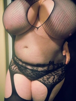 In fishnets