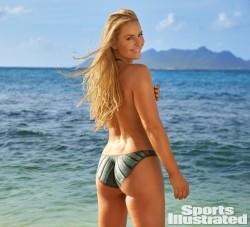 Lindsey Vonn bodypaint