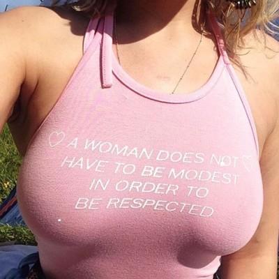 Modest respect