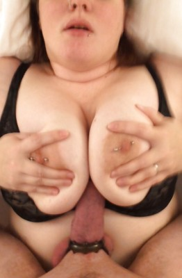 My cock squeezed between her big round tits [MF]