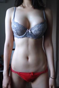 My wife puts on VS bra. I wondering