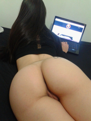 On the computer
