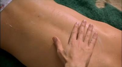"""Sophie Marceau sunscreen plot in """"Fanfan"""" (1993)."""
