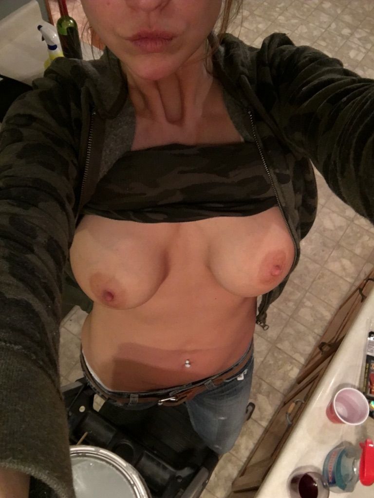 Painting the kitchen and flashing