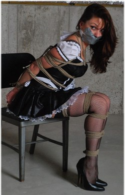 Punishing the maid