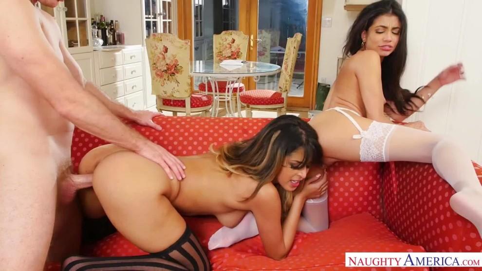 Threesome with Sophia Leone & Veronica Rodriguez