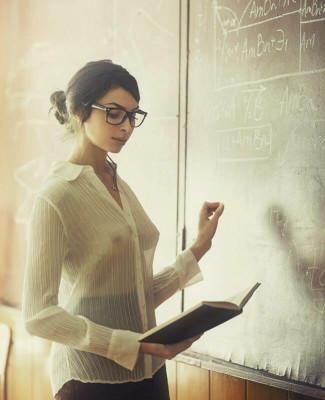 Shy & Sexy School Teacher