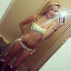 Slim blonde
