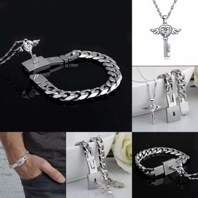 Subtle Slave/Dom bracelet and ring set.