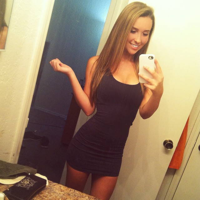 Tight dresses are nice. We like tight dresses!