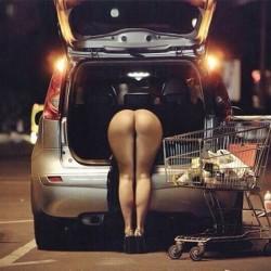 Unloading Groceries